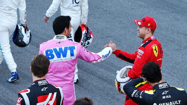 Sergio Perez & Sebastian Vettel - F1 - 2020