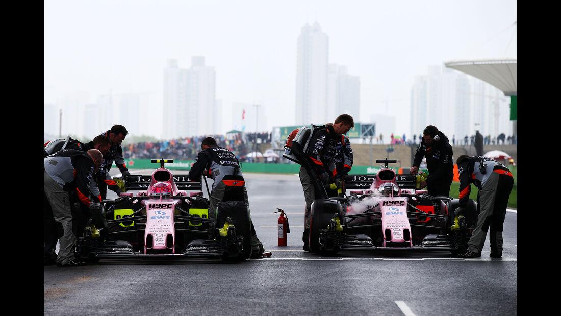 Sergio Perez - Stats - GP China 2017