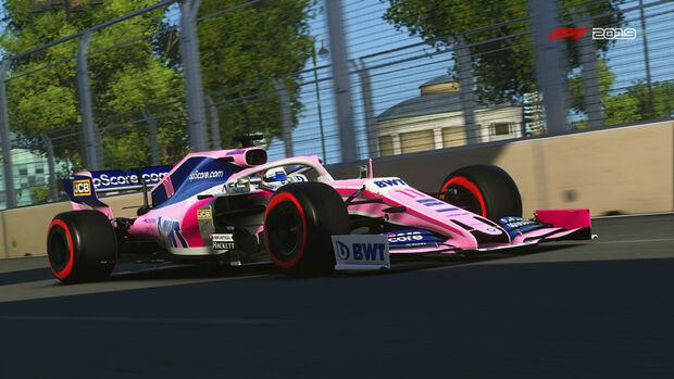 Sergio Perez - Virtueller GP Aserbaidschan 2020