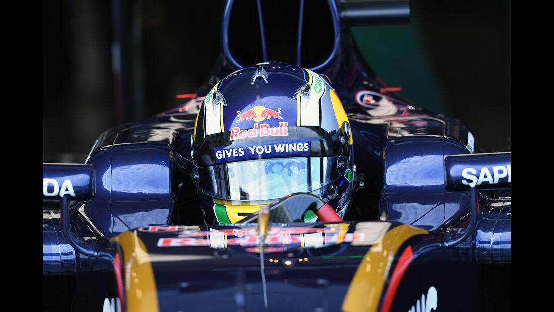 Sergio Sette Camara - Toro Rosso - Formel 1 - Silverstone-Test - 13. Juli 2016