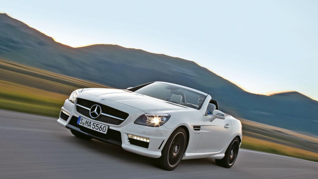 Serienfahrzeuge Cabrios bis 130 000 € - Mercedes SLK 55 AMG