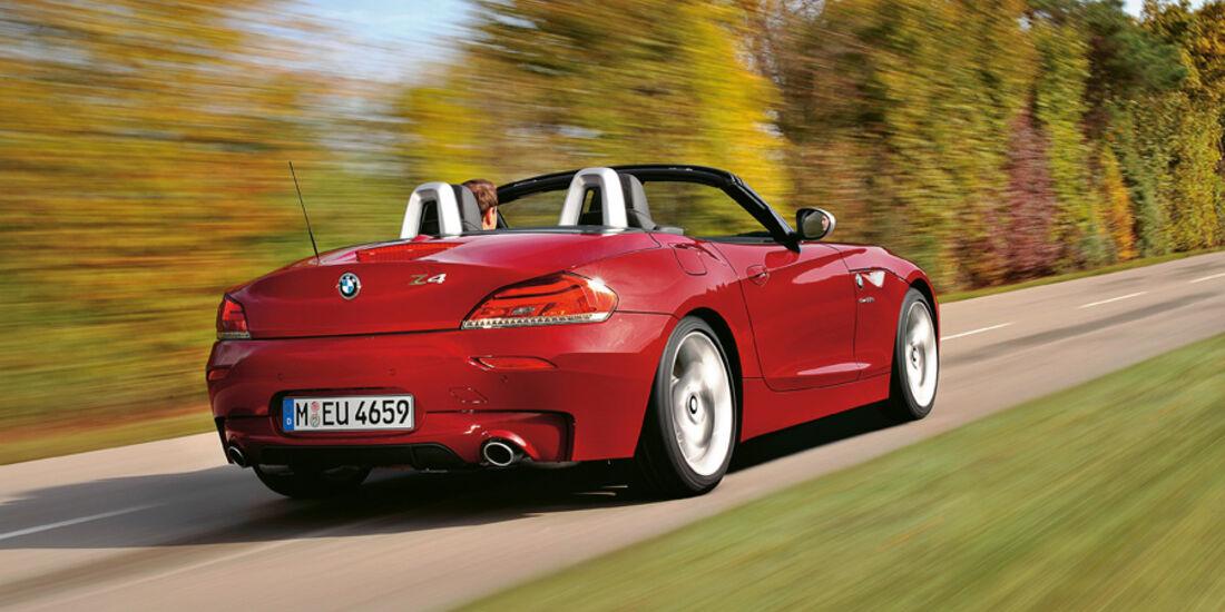 Serienfahrzeuge Cabrios bis 60 000 € - BMW Z4 sDrive 35is
