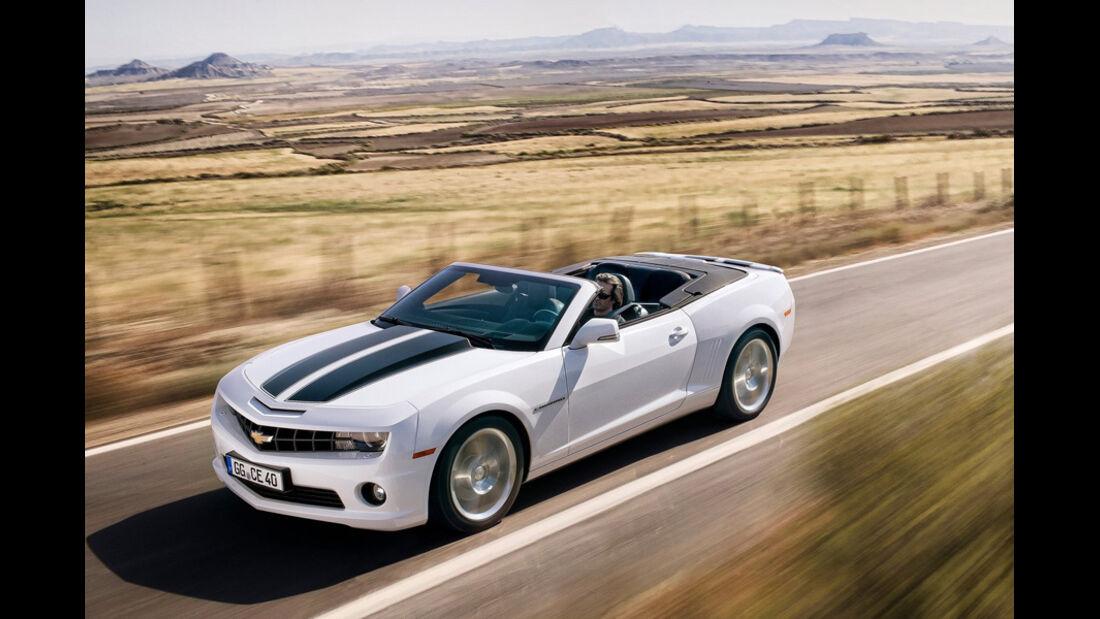 Serienfahrzeuge Cabrios bis 60 000 € - Chevrolet Camaro Cabrio