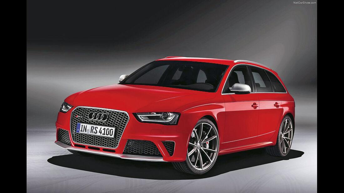 Serienfahrzeuge Limousinen bis 80 000 € - Audi RS4 Avant