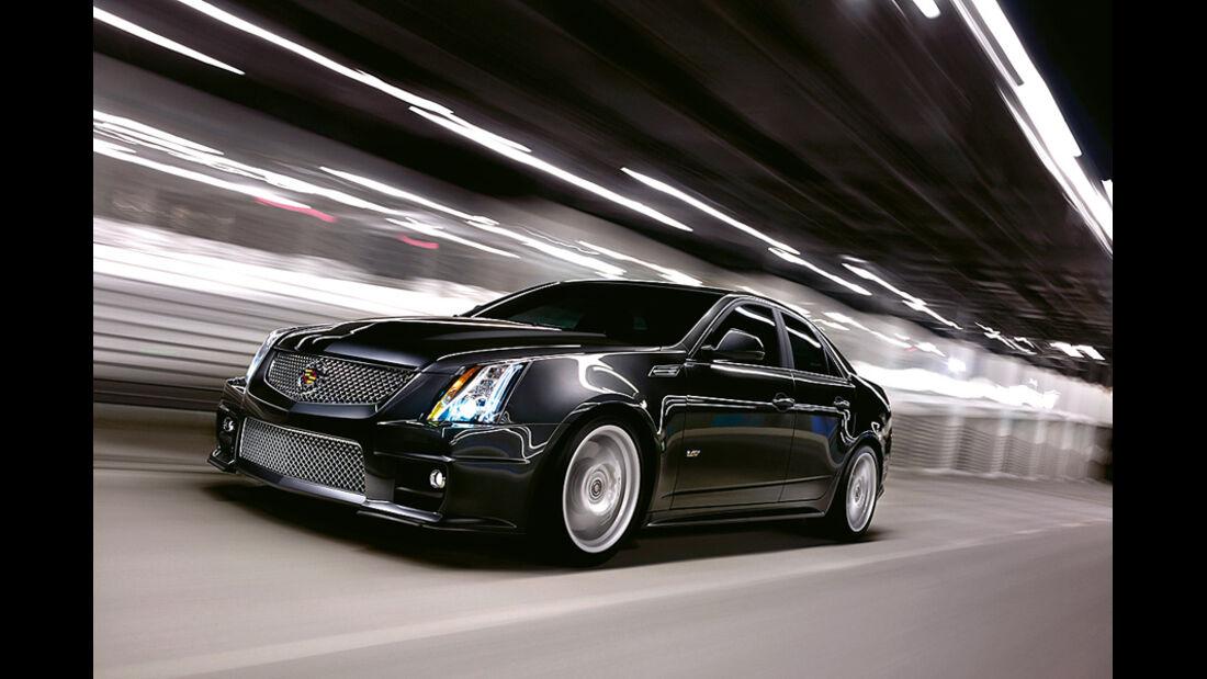 Serienfahrzeuge Limousinen bis 80 000 € - Cadillac CTS-V