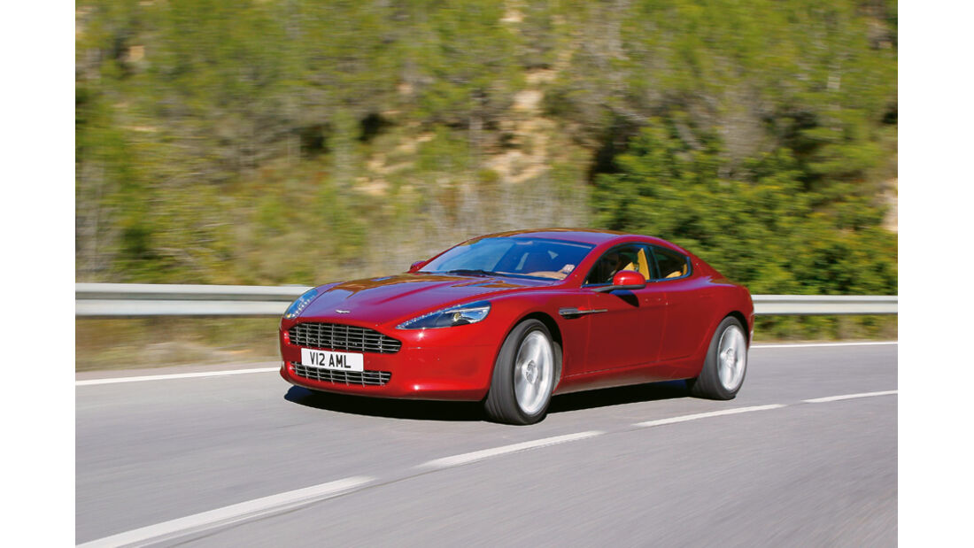 Serienfahrzeuge Limousinen über 80 000 € - Aston Martin Rapide