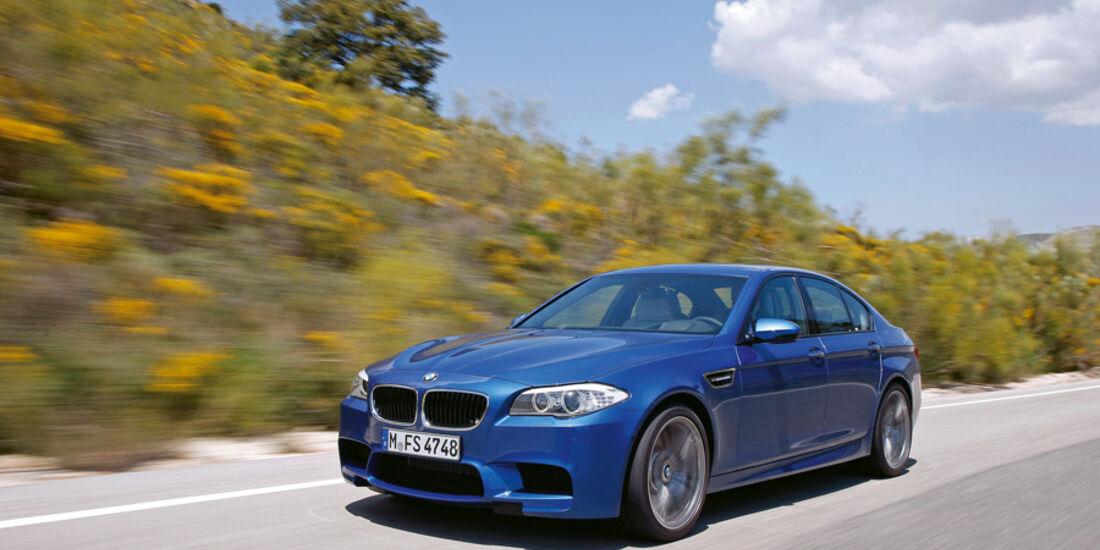 Serienfahrzeuge Limousinen über 80 000 € - BMW M5