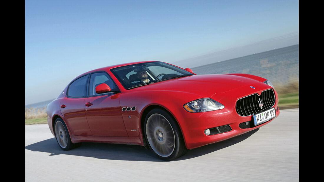 Serienfahrzeuge Limousinen über 80 000 € - Maserati Quattroporte Sport GT S