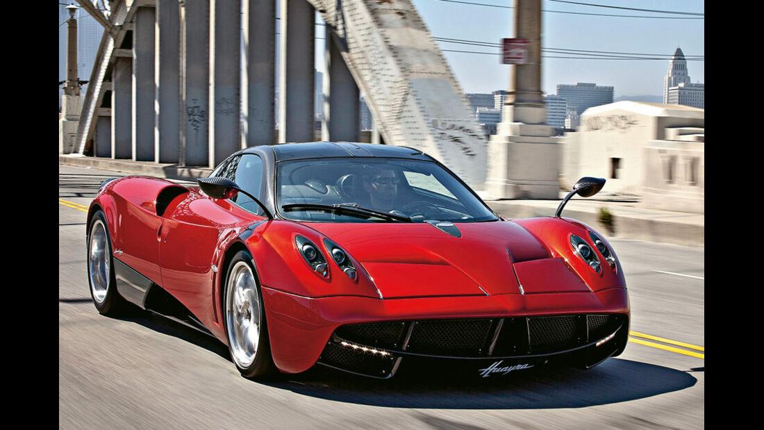 Serienfahrzeuge Supersportler - Pagani Huayra