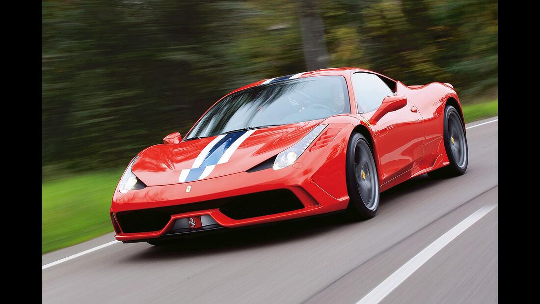 Serienwagen, sport auto-Award 2014, spa0514, Coupés über 150.000 Euro, Ferrari 458 Speciale