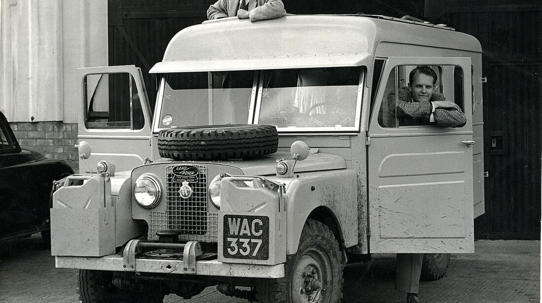 Series I Expedition Vehicle 1957