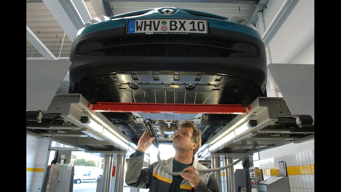 Service-Pakete für ältere Autos