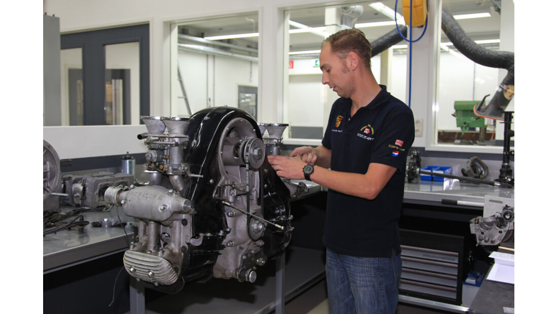 Service am 550-Motor
