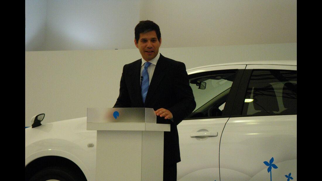 Shai Aggasi, Geschäftsführer Better Place