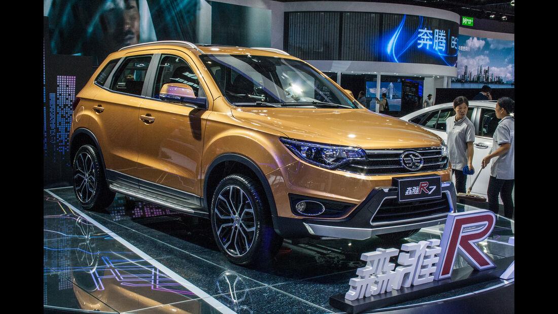 Shanghai Auto Show 2017 Dreiste Kopien