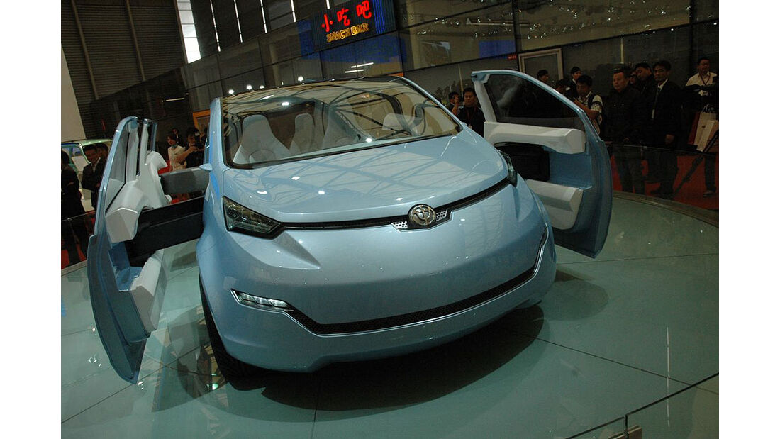 Shanghai Auto Show Rundgang