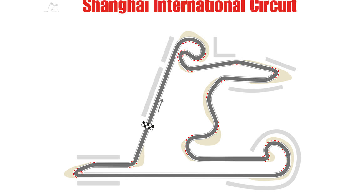 Shanghai International Circuit - Formel 1 - Rennstrecke