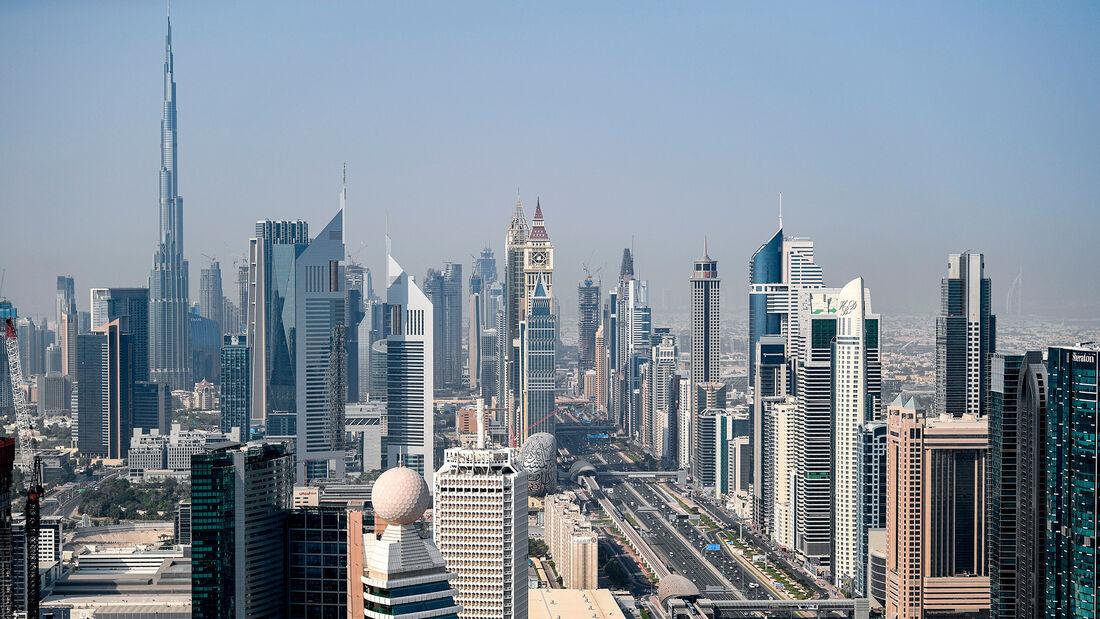 Sheikh Khalifa Highway in Dubai
