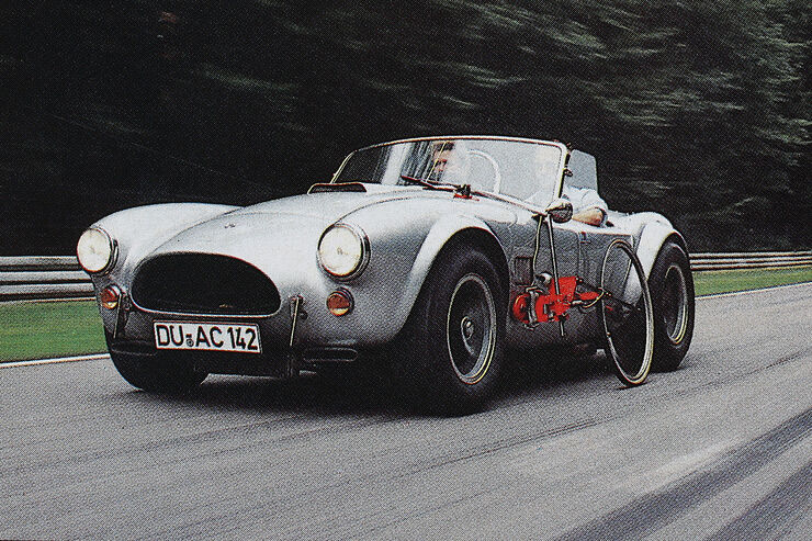 Shelby Ac Cobra Drei Giftige Cobra Auto Motor Und Sport