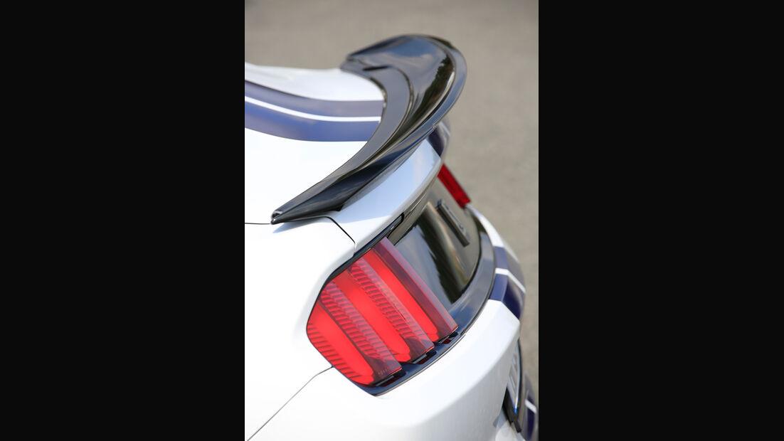 Shelby GT350 Mustang, Heckspoiler