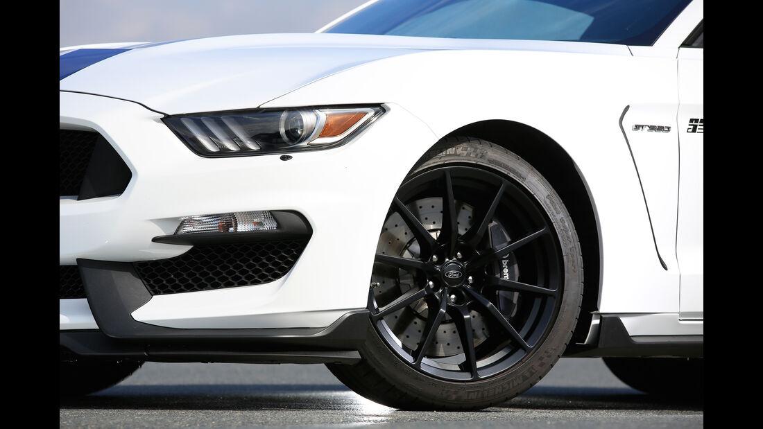 Shelby GT350 Mustang, Rad, Felge