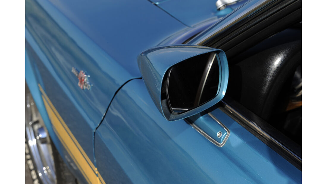 Shelby Mustang GT 500, Baujahr 1969, Aussenspiegel