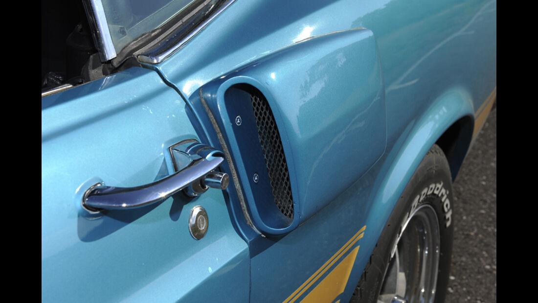 Shelby Mustang GT 500, Baujahr 1969, Lufthutzen