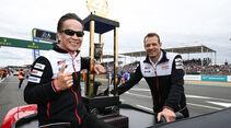 Shigeki Tomoyama - Alexander Wurz - Toyota - 24h-Rennen Le Mans - Samstag - 15.06.2019