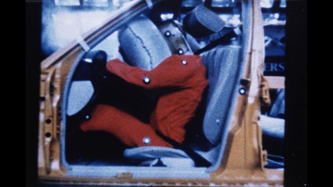 Sicherheitstechnik, Crashtest, Airbag