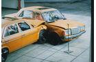 Sicherheitstechnik, Crashtest, Seitencrash, Mercedes