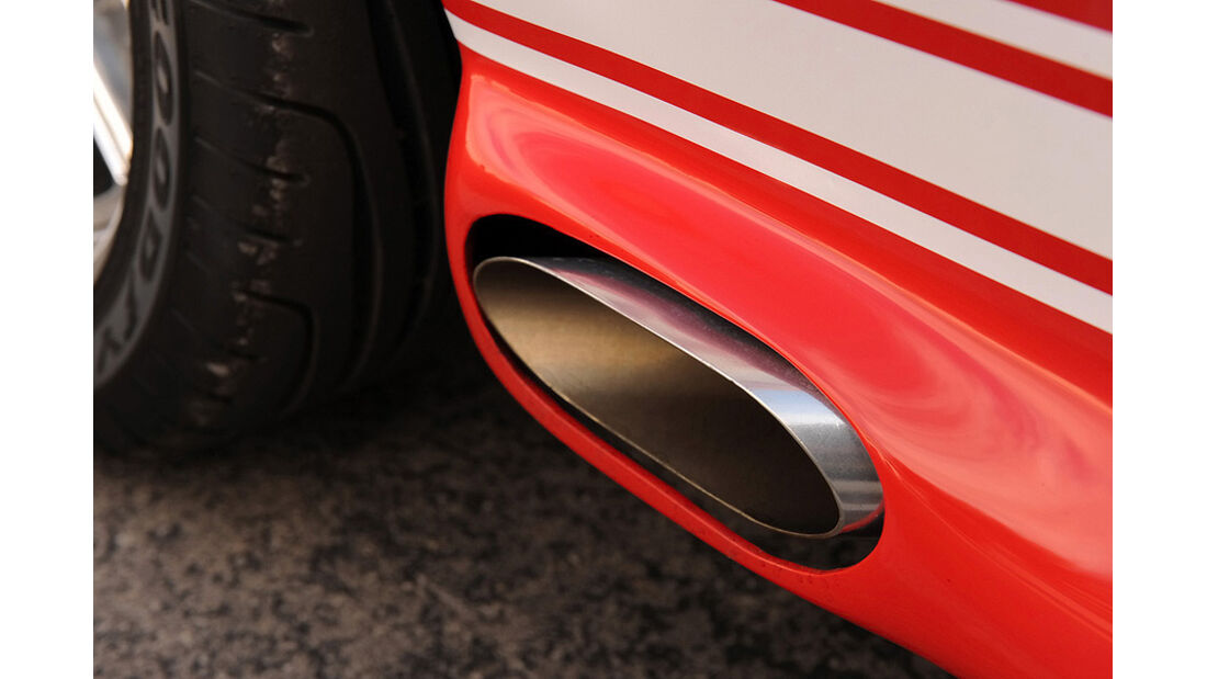 Sidepipes des Classic Recreations Shelby GT500