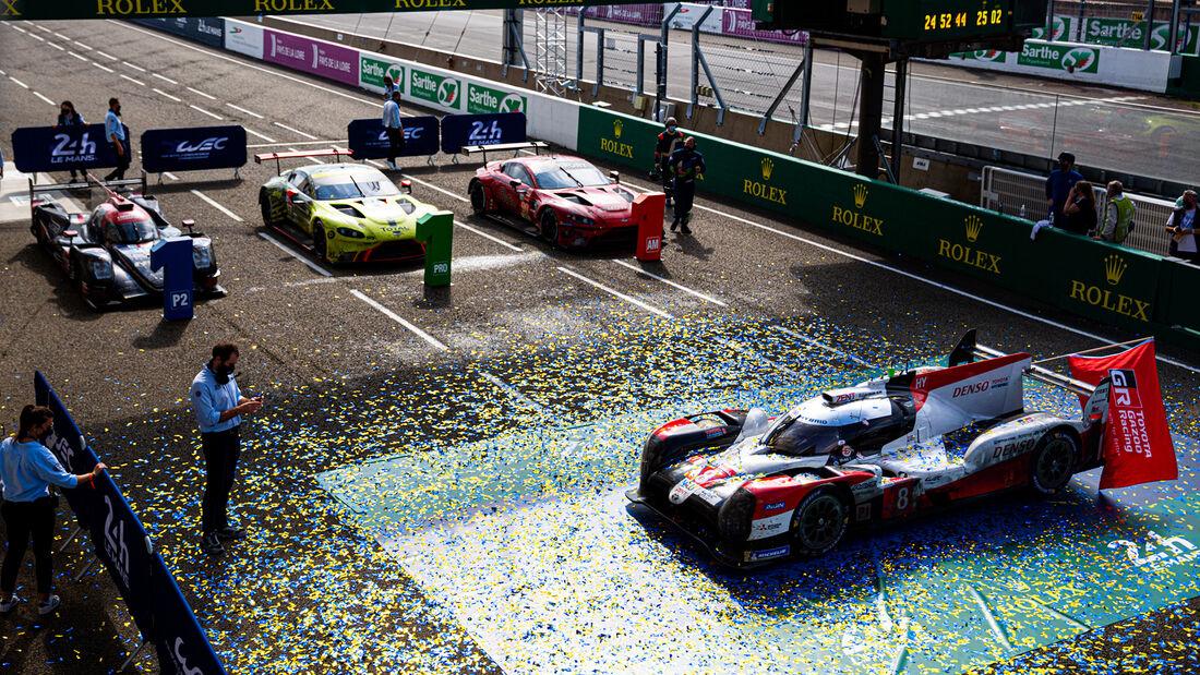 Sieger - 24h-Rennen - Le Mans 2020
