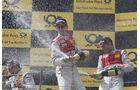 Siegerehrung, Tomczyk, Schumacher, Jarvis, DTM, Spielberg, 2011
