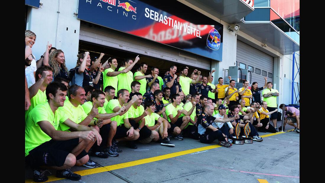 Siegerfoto - Formel 1 - GP Deutschland 2013
