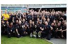 Siegerfoto GP England Silverstone 2012