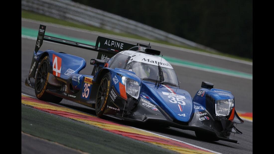 Signatech-Alpine - Vortest - 24h-Rennen Le Mans 2017