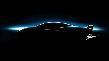 Silk EV FAW Hongqi S Elektrosportwagen Teaser