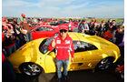 Silverstone Ferrari Racing Days Weltrekord 2012