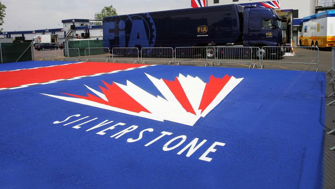 Silverstone - Logo - F1 - GP England