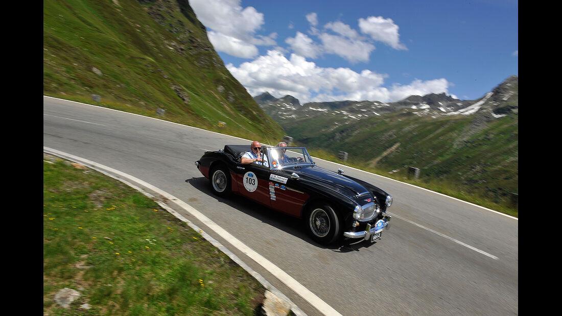 Silvretta Classic 2012, Tag 1, Hardy, mokla 0712