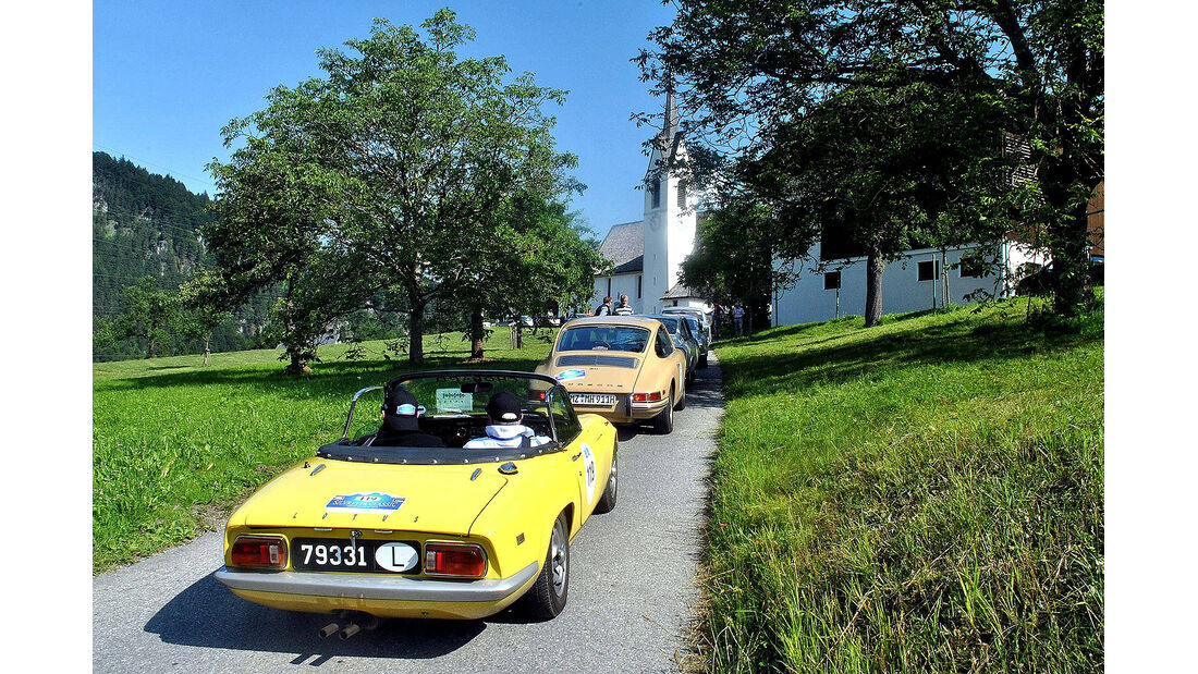 Silvretta Classic 2013, Franziska Mohr, Sommerurlaub