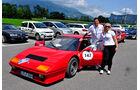 Silvretta Classic 2013, Tag 2, Kai Klauder Fiat 500, Ferrari 512