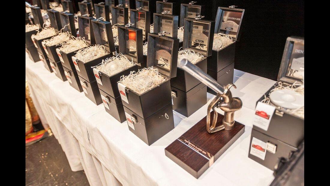 Silvretta Classic 2015, Kolben-Pokale