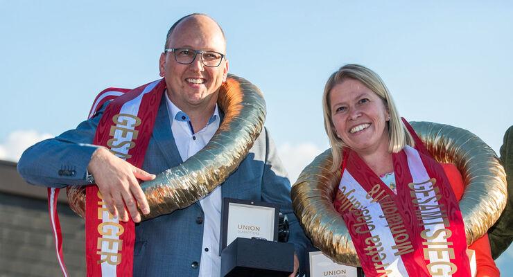 Silvretta Classic 2018 - Gewinner, Peter Göbel und Melanie Gumbl