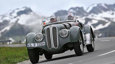 Silvretta Classic, BMW 328, Frontansicht