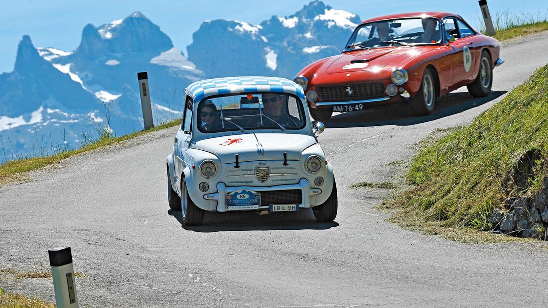 Silvretta Classic, Fiat Abarth 1000 TC, Ferrari 250 GT Lusso