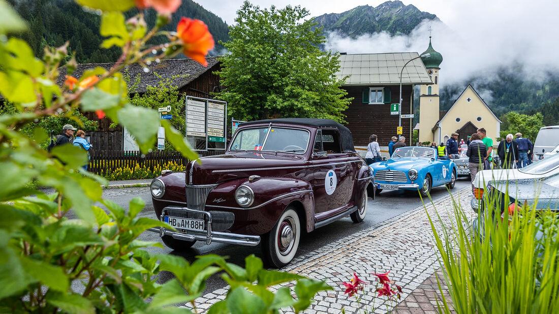 Silvretta Classic Rallye Montafon 2021 Tag 1