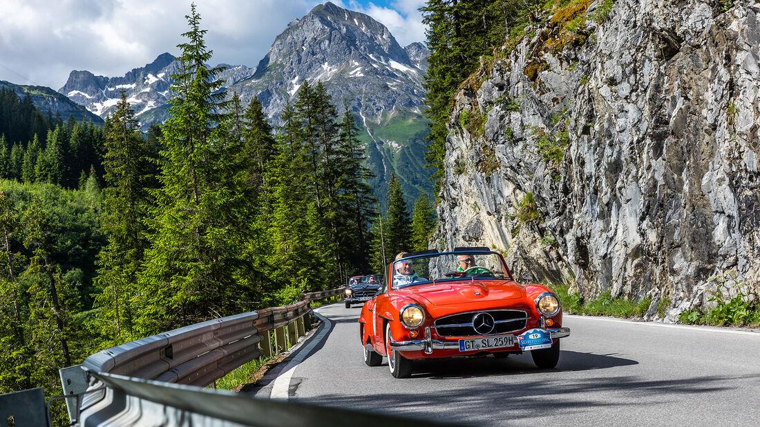 Silvretta Classic Rallye Montafon 2021 Tag 2