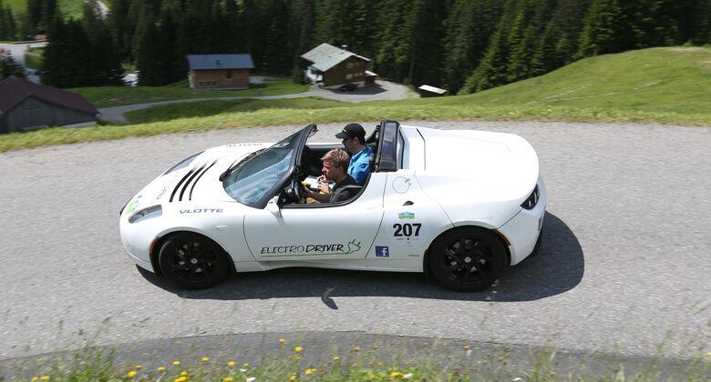 Silvretta Classic, Tesla Roadster