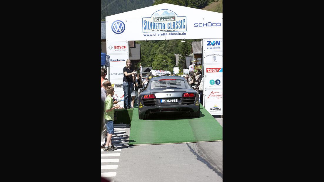 Silvretta E-Auto 2010, Elektroauto, E-Auto, Audi E-Tron Start